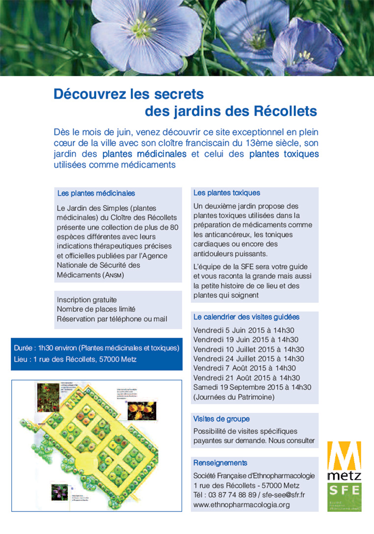 Visites guidées des jardins des Récollets à Metz | Blog